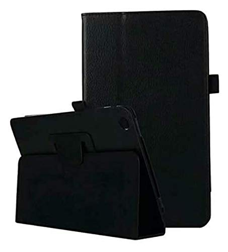 ZRH Accesorios De Pestañas para Huawei MediApad M3 Lite 10, Foilo Stand PU Tablet Tablet Funda para Huawei MediApad M3 Lite 10.0 BAH-W09 BAH-AL00 (Color : Black)