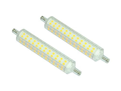 Set mit 2 LED-Lampen R7s 15 W 1200 Lumen PEGASO, natürliches Licht 4000 K Slim-Version