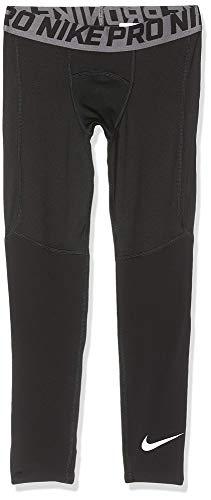 Nike Jungen Tights Pro, Black/White, L, BV3516-010