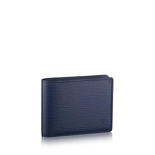 Louis Vuitton Epi Leather Multiple Wallet (Navy Blue)