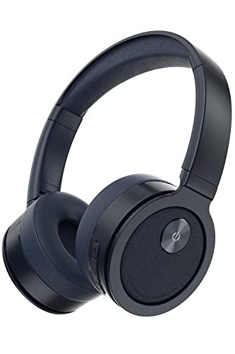 PICUN B10 Draadloze hoofdtelefoon, bluetooth, over-ear 60 uur speeltijd, draadloze oordopjes met geïntegreerde headset met microfoon, TF-sleuf en afneembare klinkstekker kabel, snel opladen - blauw