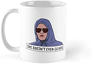 SHE DOESN'T EVEN GO HERE Mug(One Size)