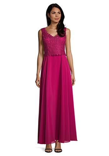 Vera Mont Damen 4042/4000 Partykleid, Rosa (Berry Pink 4221), (Herstellergröße: 48)
