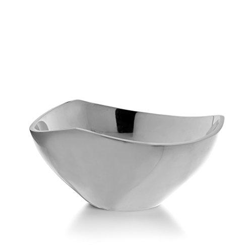 Nambe Tri-Corner Bowl, 9-Inch