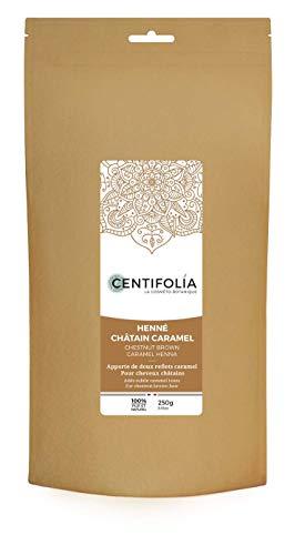 Centifolia- Estratti delle piante di Henné, castagno e caramello