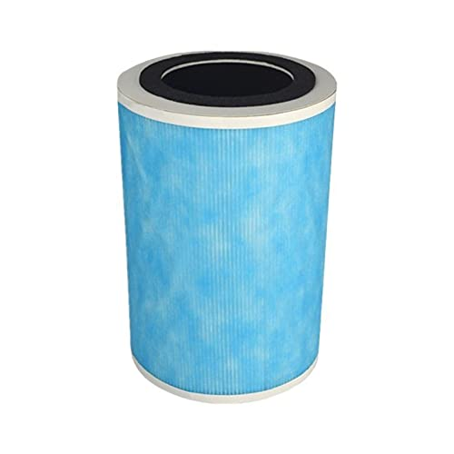 MiaoMiao Fit For Xiaomi 1/2/2S/Pro Original Air Purifier Filter Replacement Activated Carbon Haze Smoke HCHO Remover Fresh Air Retailsale service (Color : Blue)