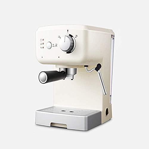 Coffee machine Ekspres do kawy ekspres do kawy Espresso ekspres do kawy 15 bar, kapuccino, piana piana mleka, 1050W, pojemność 1,25l wymienna podajnik kroplówki Dysza parowa do przygotowywania gorącyc