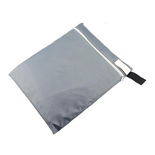 Ajcoflt Thicken - Funda Plegable para Silla de Exterior de Gravedad Cero, Impermeable y Resistente a los Rayos UV, Fundas para Muebles de Patio de césped a Prueba de Polvo, 28 x 43 Pulgadas
