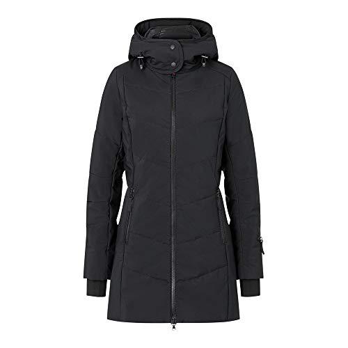 Bogner Fire + Ice Ladies Irma Uni Schwarz, Damen Daunen Wintermantel, Größe 34 - Farbe Black