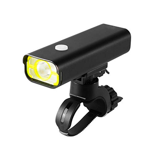 USB Rechargeable Bike Light, Bicycle Light Installs in Seconds Without Tools, Powerful Bike Headlight Compatible with: Mountain, Kids, Street, Bikes