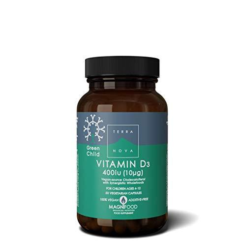 Green Child Vitamin D3 400iu
