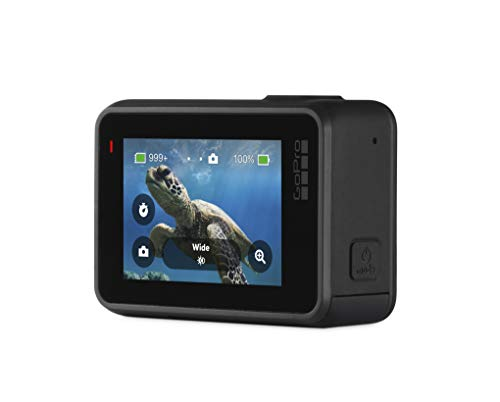 GoPro Hero7 Black — Waterproof Action Camera with Touch Screen 4K Ultra HD Video 12MP Photos 720p Live Streaming… 2 HyperSmooth: Get gimbal‑like stabilization—without the gimbal. HERO7 Black corrects for camera shake to deliver insanely smooth footage TimeWarp: Capture super stabilized time lapse videos while you move about a scene. Increase the speed up to 30x to turn longer activities into shareable moments Live streaming in 720p: Share while you're there. Live stream in 720p on social, get HyperSmooth stabilization as you broadcast via the GoPro app and save footage to your SD card to check out later