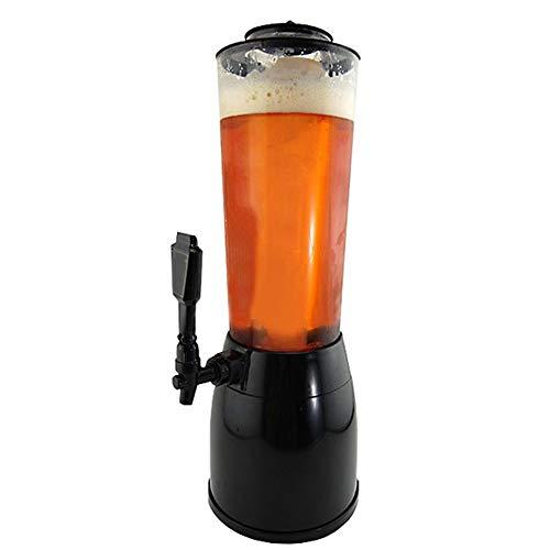 Haoshangzh55 Dispensador De La Cerveza con El Refrigerador, 3,6 L. Dispensador De La Bebida, Independiente 1.1 L. Ice Core Compartimiento, 53 Cm De Alto