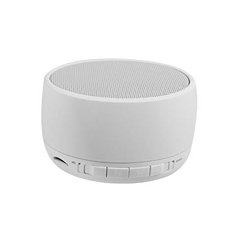 DFJU Altavoz portátil Bluetooth Audio Bluetooth Reproducción AUX, reproducción de tarjetas de reproducción fácil de usar Audio fácil de transportar