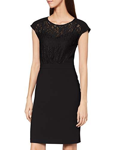 ESPRIT Collection Damen 110EO1E326 Kleid, 001/BLACK, 40