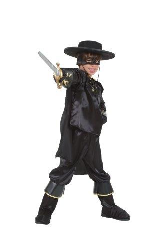 Cesar O858-005 - Costume da Zorro per bambino, 5/7 anni