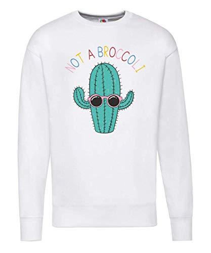 Pullover - Not A Broccoli Kaktus - Sweatshirt Unisex für Kinder - Junge und Mädchen