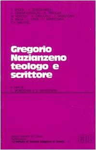 Gregorio Nazianzeno teologo e scrittore