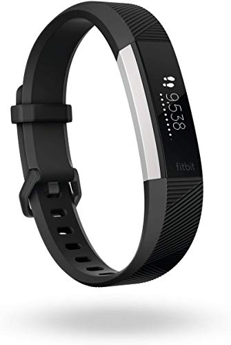 Fitbit Alta HR, Black, Large (International Version)