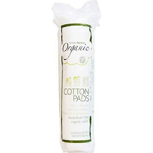 Simplemente suave algodón orgánico–Paquete de 100almohadillas