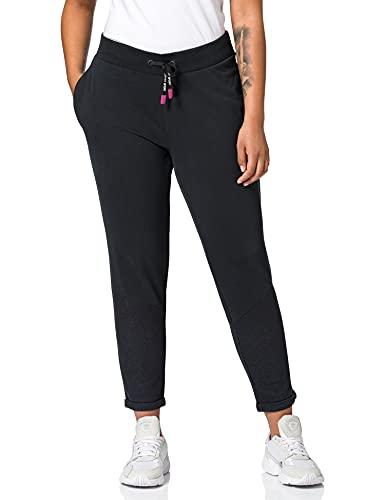 ESPRIT Sports Damen COO Sweat Pants Yoga-Hose, 001/BLACK, S