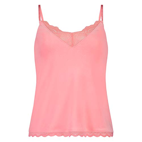 HUNKEMÖLLER Damen Cami Velours Lace Orange M