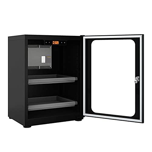 N\C Cámara Seca Caja E-Dry, Deshumidificante Caja Seca, Caja Seca con Control Digital Almacenamiento Silencioso para Ahorro de Energía LKWK