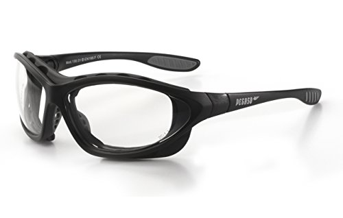 PEGASO 156.01 - Gafas proteccion gama ANTI-IMPACT modelo IMAX Lente PC Incolora Antivaho, transparente, L