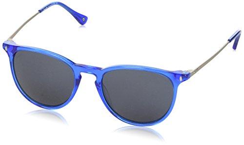 Vespa Unisex-Erwachsene Eye Sonnenbrille, Blau (Blu), 52