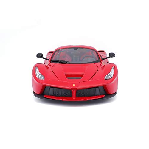 Bburago 1:18 Scale Ferrari Race and Play LaFerrari Diecast Vehicle (Colors May Vary)