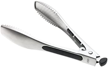 OXO Ice Tongs Stainless Steel, Silver and Black