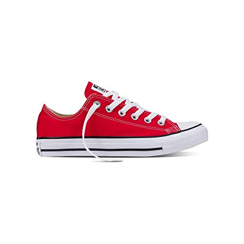 Converse Chuck Taylor All Star, Sneakers Unisex - Adulto, Rosso (Tango Red), 37 EU