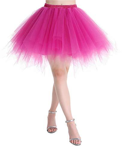 MuaDress LXQ Sottoveste Gonna in Tulle retrò Tutu Balletto Halloween Corta sotto Stile...