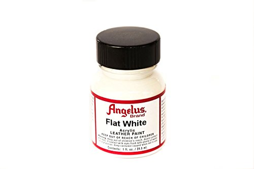 Angelus Flat White Acrylic Leather Paint