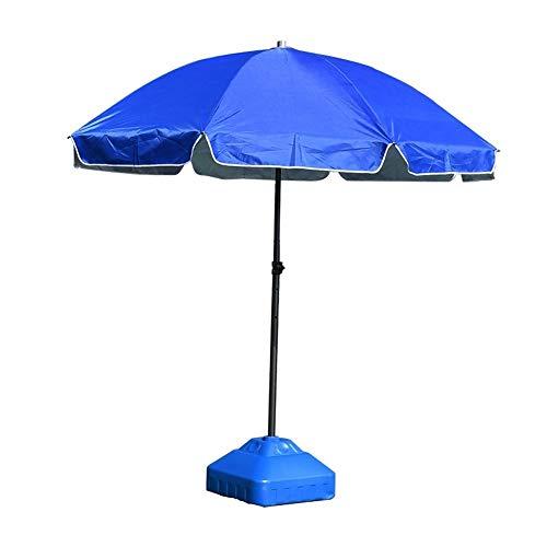 Jardín Sombrilla de Protección Solar/sombrilla Patio al Aire Libre Paraguas Parasol, Sombrilla de Playa portátil con inclinación y manivela, Mercado Ronda Paraguas del pabellón (Size : 2.8Meter)