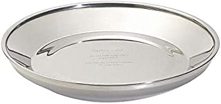Insulated Base, Wax, 9 in. dia, SS, PK12