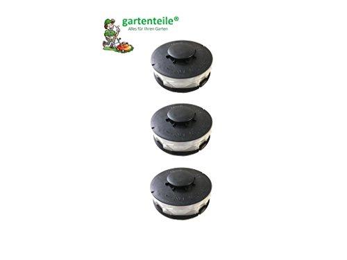3 stuks dubbele draad grastrimmer spoel reservedraadspoelen voor elektrische grastrimmer geschikt voor Hornbach ERT 550 V 550/1
