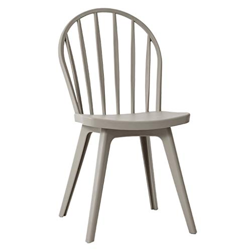 Sillas Comedor Silla silla de comedor informal moderna silla de plástico creativa asiento trasero silla de la sala taburete silla de taburete for el hogar for adultos adecuado for restaurante sala de