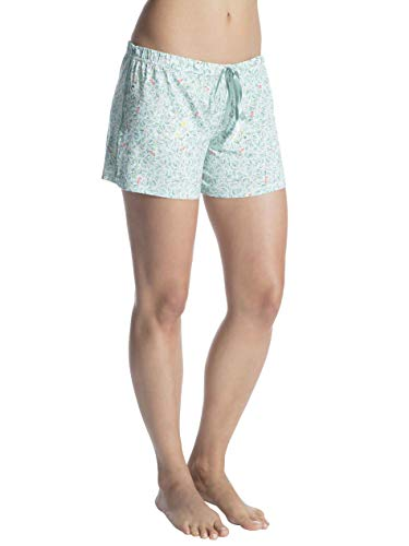 PiP Studio Damen Pyjama-Shorts Bonna grün (43) XS
