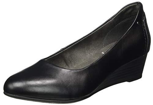 Jana Softline Damen 8-8-22366-25 Pumpe, Black, 42 W EU