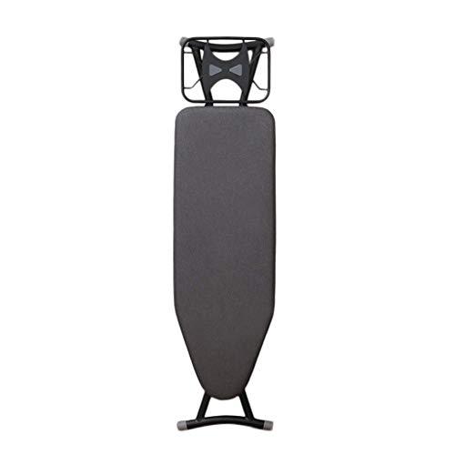 SJBF Tabla de Planchar Habitación Tabla de Planchar, Negro Metal Vertical Hotel for Suelo de Placa Plegable Que Permite Ahorrar Espacio Hierro eléctrico, 93 * 32 * 83cm Suministros de lavandería
