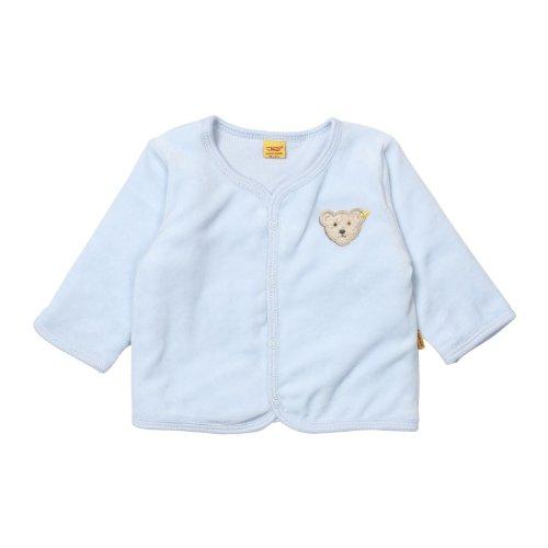 Steiff Steiff Unisex - Baby Classics Nicky Jacke 0002887, Gr. 56, Blau (baby blue)