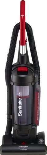Sanitaire SC5745A Commercial Quite Upright Bagless Vacuum Cleaner with Tools and 10 Amp Motor, 13