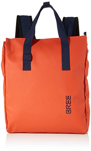 BREE Unisex-Erwachsene PNCH 732 backpack Rucksack, Orange (Pumpkin), 12x38x32 cm