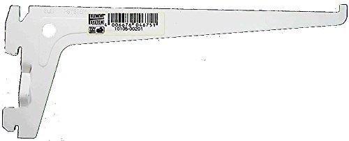 Element System 10105-00201 Träger PRO 10105, Länge 200 mm, Stahl weiß (ähnlich RAL 9003), L