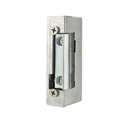 WITTKOWARE elektrischer Türöffner mit Entriegelung, 6 bis 12V AC/DC, Schraublochabstand 52mm