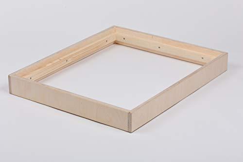 B.A.M. Montage Stapelrahmen für Plyo Box, Sprungbox für Sprungkrafttraining, Jump Box, Sprungkasten aus Multiplex-Holz