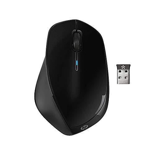 HP X4500 (H2W26AA) kabellose Maus (1.600 dpi, 3 Tasten, Scrollrad, USB Dongle) schwarz