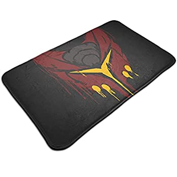 Classic Awesome Ratchet and Clank Deadlocked Red Premium Fashionable Durable Non Skid Doormats No Fade Multifunctional Floor Mat for Office Living Room Patio Kitchen Tub Decoration 19.5x31.5 Inch