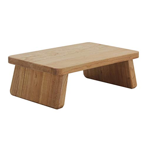 Weq Tatami bijzettafel van massief hout, eenvoudige Chinese tafel